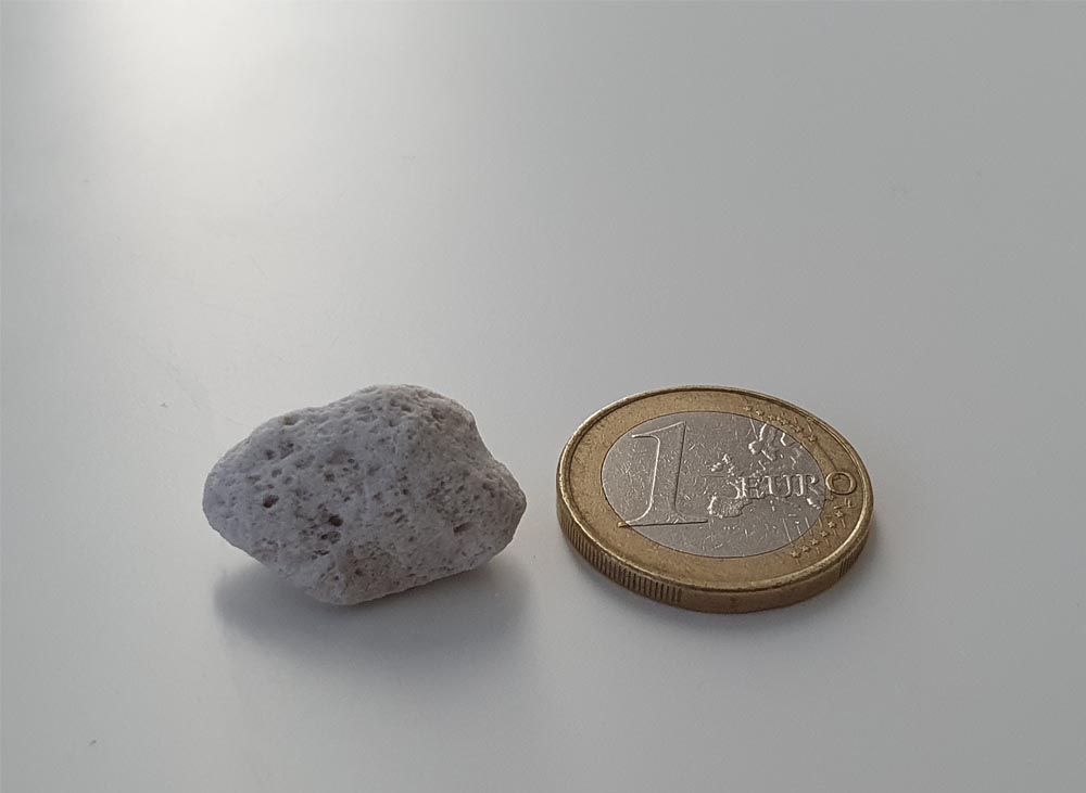 The size of the pebble that will undo you