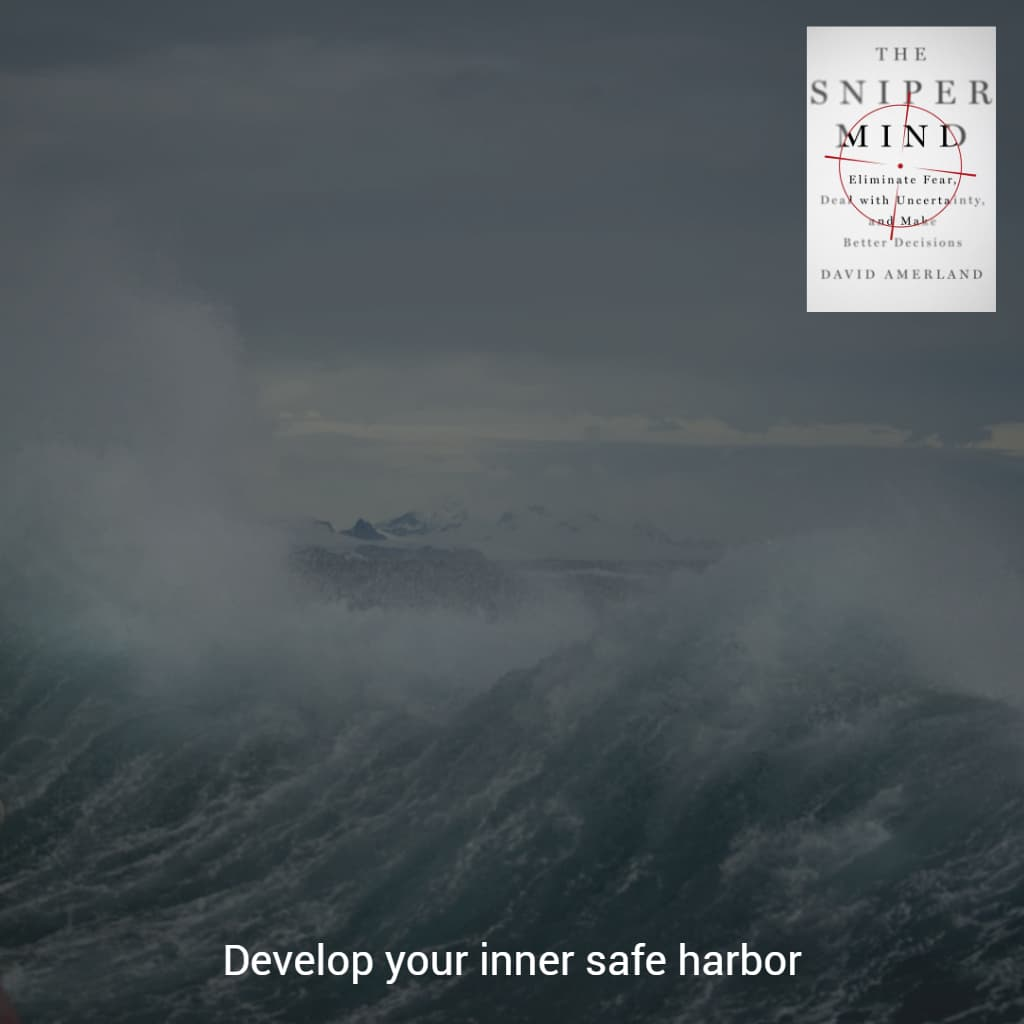 Safe harbor against the storm