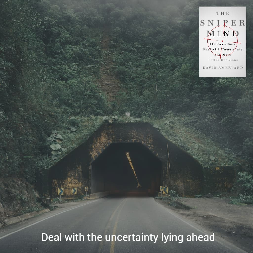 Uncertainty always lies into the future.
