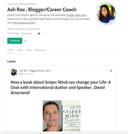 Ash Rao The Sniper Mind Interview