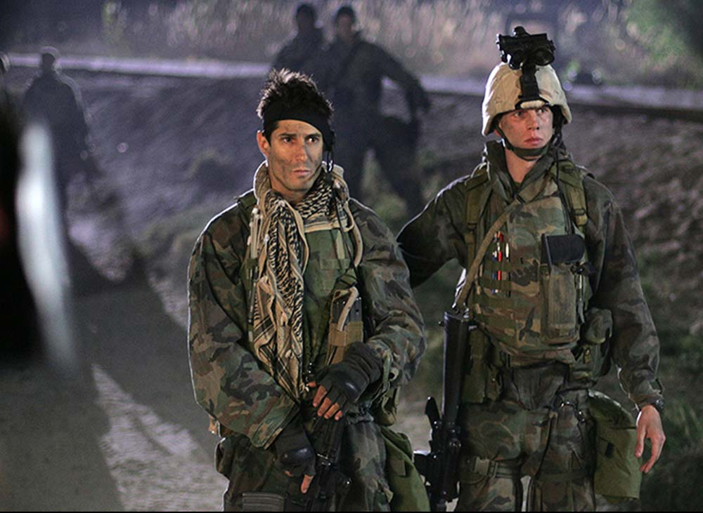 In Generation Kill ex-Marine Scout Sniper Rudy Reyes plays himself