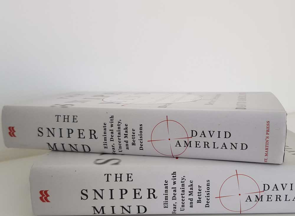 The Sniper Mind hardback by David Amerland